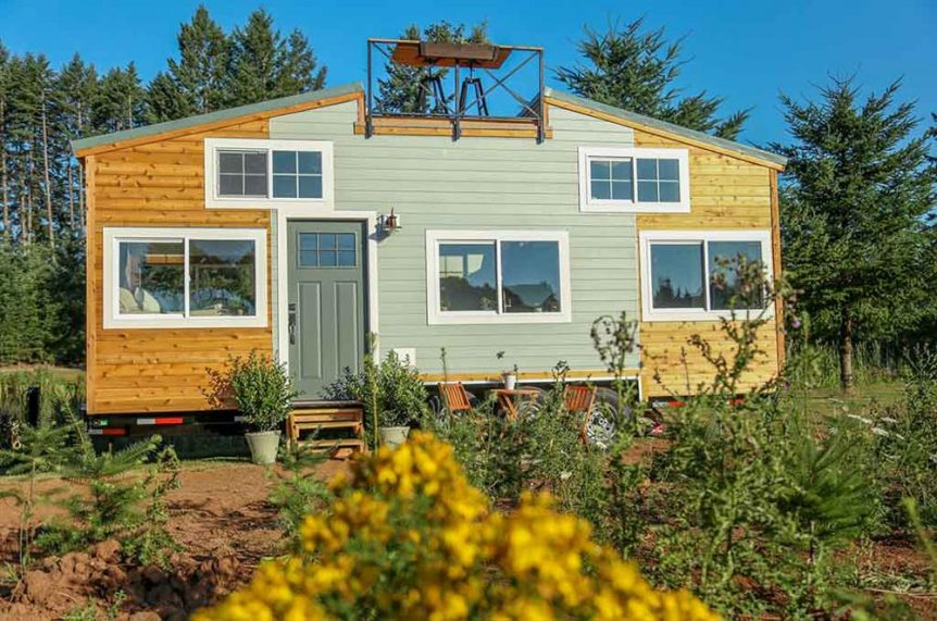 Rustic Tiny Home by Tiny Heirloom
