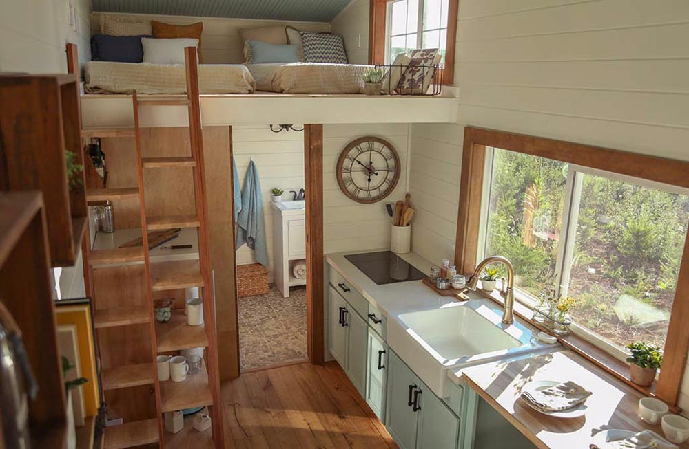 Kitchen - Rustic Tiny Home by Tiny Heirloom