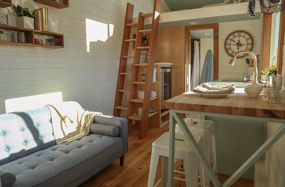 Living Area - Rustic Tiny Home by Tiny Heirloom