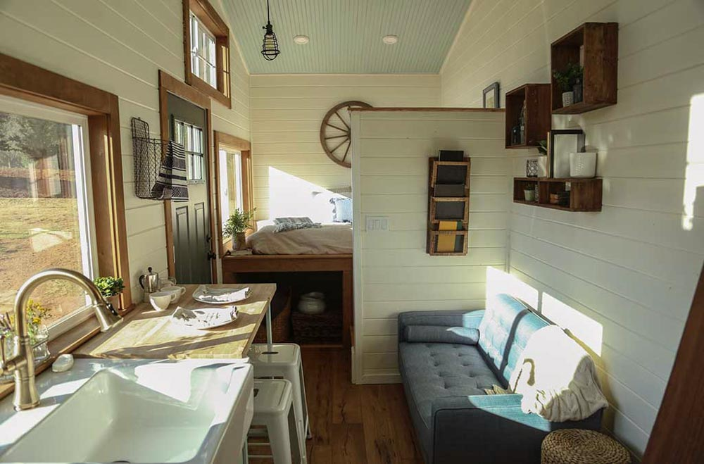 Couch - Rustic Tiny Home by Tiny Heirloom
