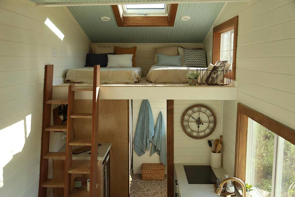 Guest Loft - Rustic Tiny Home by Tiny Heirloom