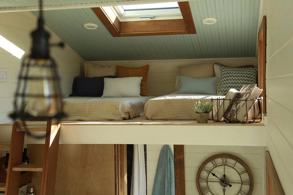 Twin Beds - Rustic Tiny Home by Tiny Heirloom
