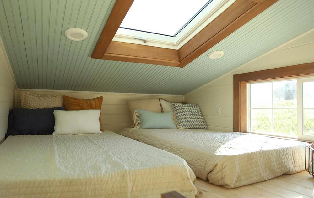 Skylight - Rustic Tiny Home by Tiny Heirloom