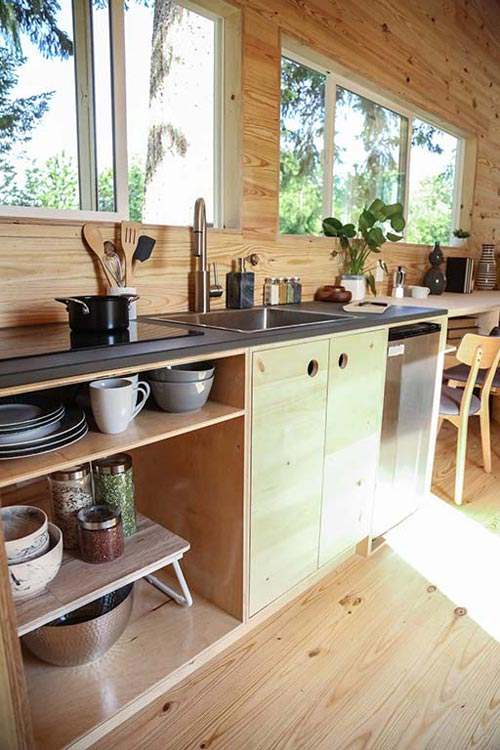 Kitchen - Tiny Home on the Coast by Tiny Heirloom