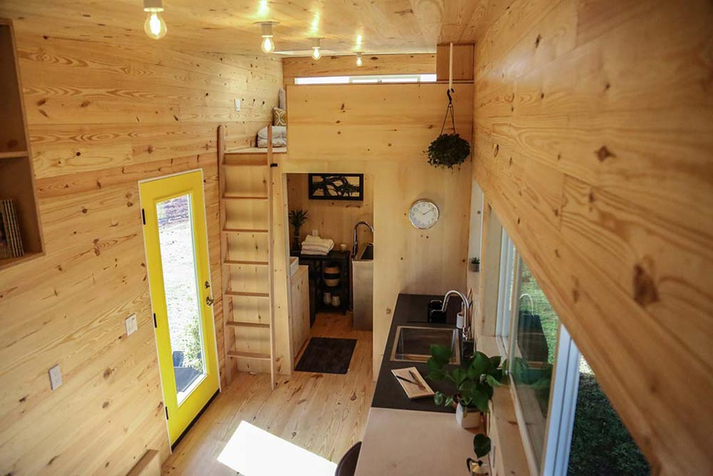 Bedroom Loft - Tiny Home on the Coast by Tiny Heirloom