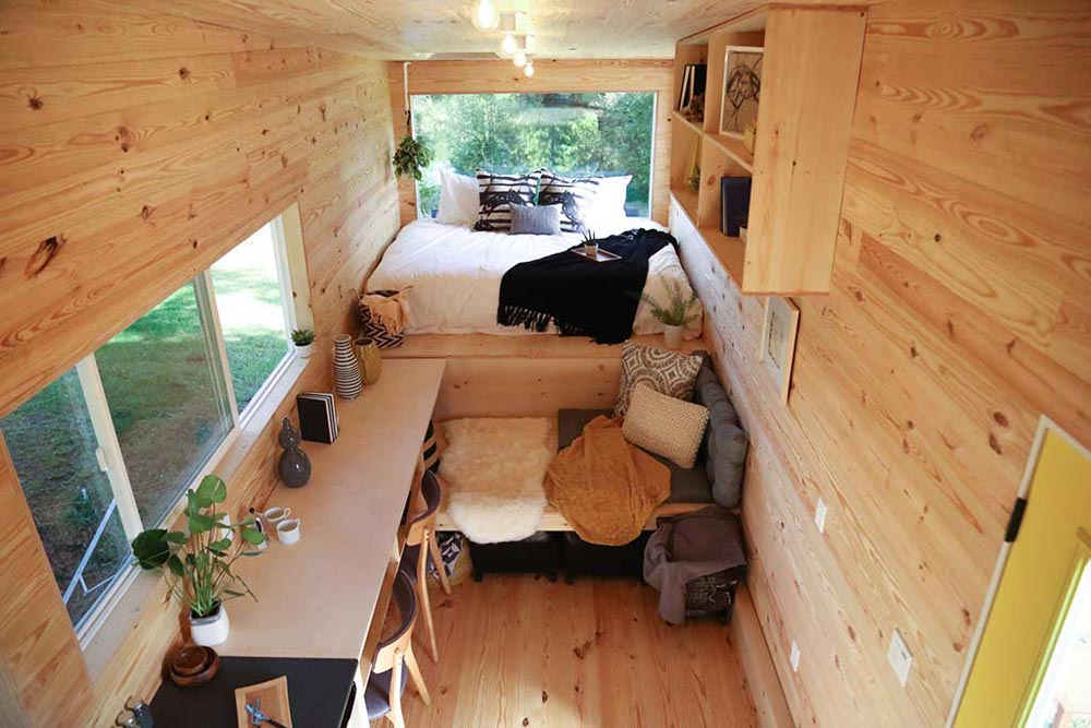 View From Loft - Tiny Home on the Coast by Tiny Heirloom
