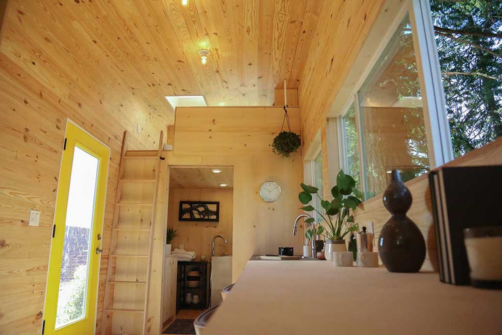 Loft & Bathroom - Tiny Home on the Coast by Tiny Heirloom