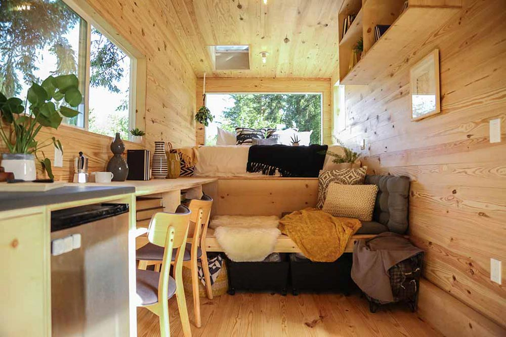 Living Area - Tiny Home on the Coast by Tiny Heirloom