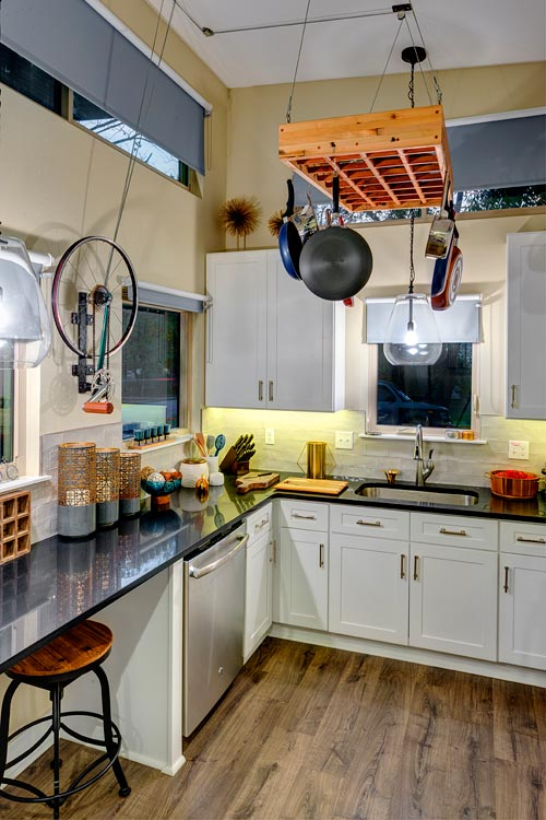 Kitchen - Amplified Tiny House