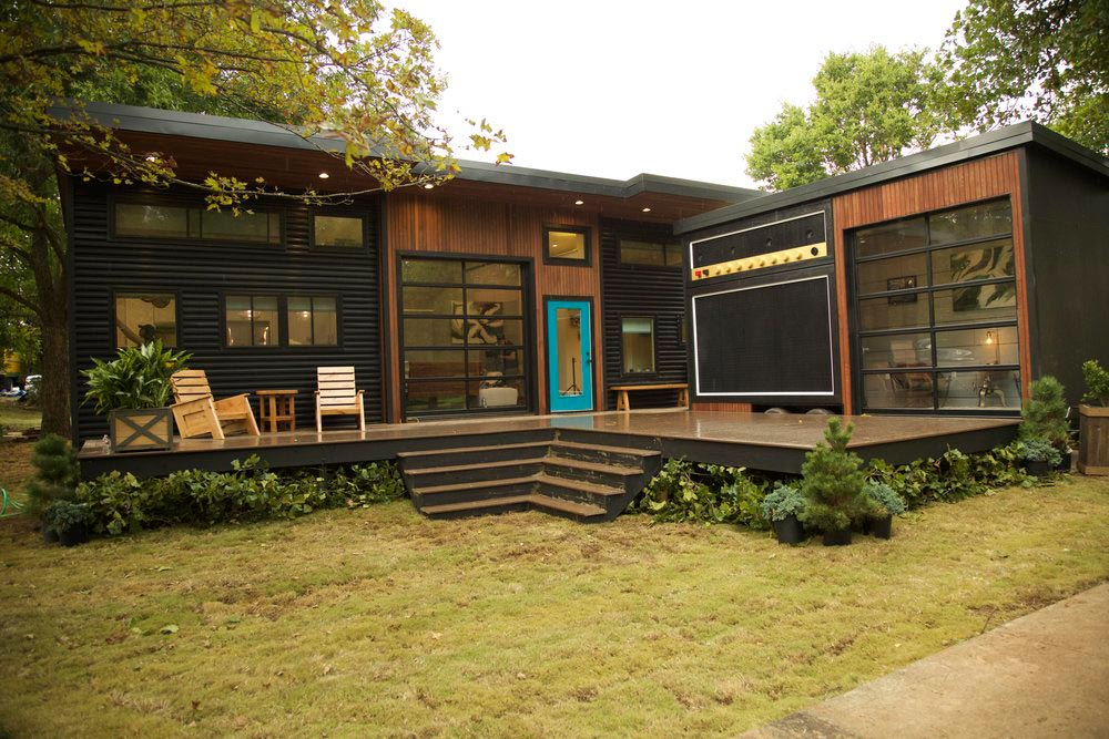 amplified tiny house tiny living