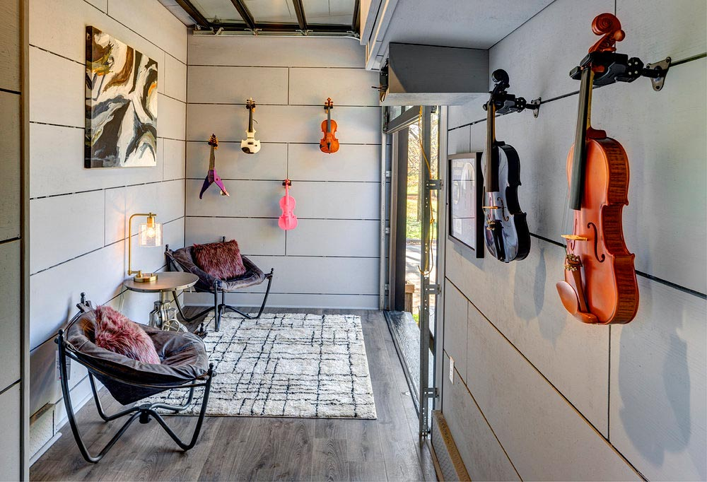 Music Studio - Amplified Tiny House