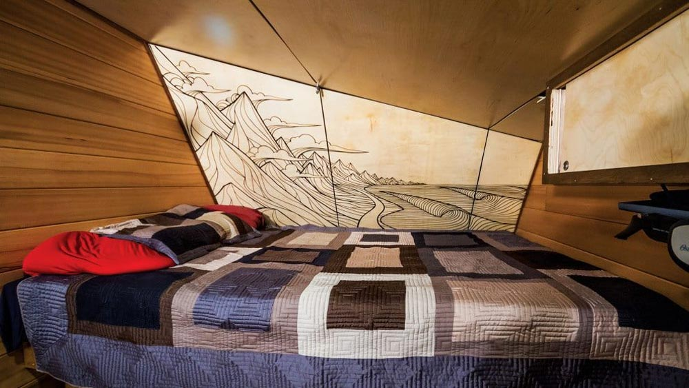 Wall Mural - Andy's Tiny House