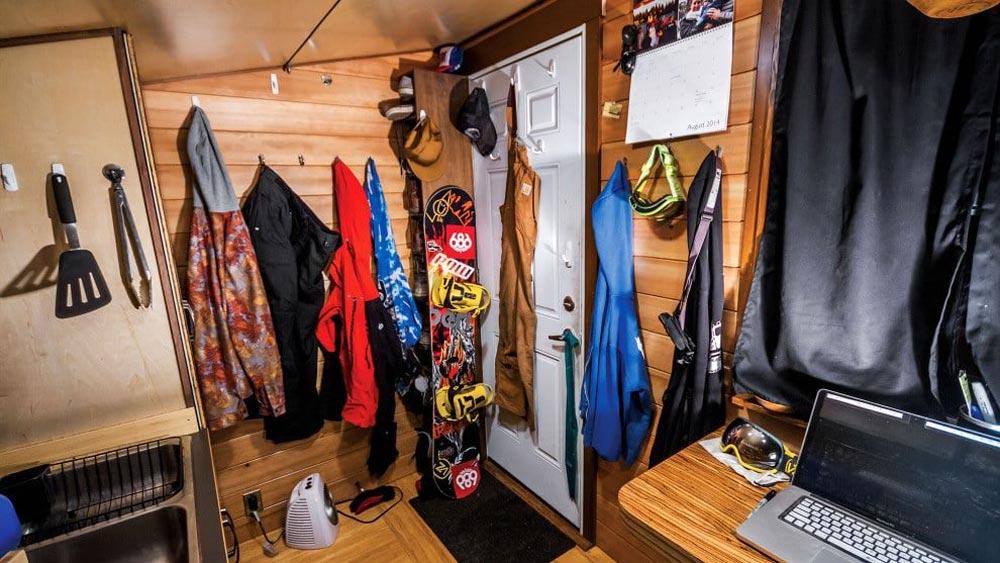Storage Hooks - Andy's Tiny House