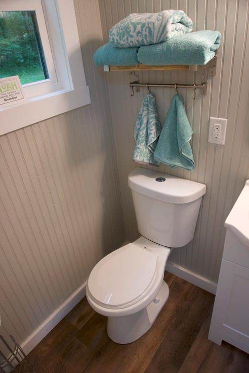 Flush Toilet - Baby Boomer by The Painted Home Co