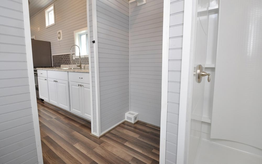 Closet - Brooke by Tiny House Building Company