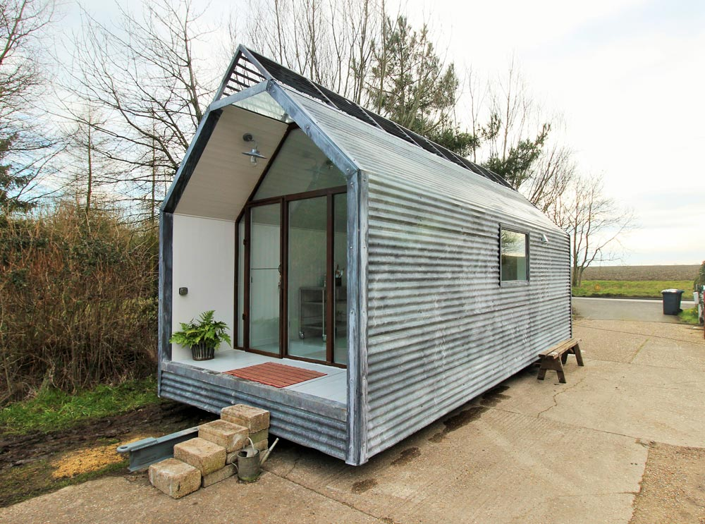 Mini Cabin Contemporary Shepherds Huts Tiny Living