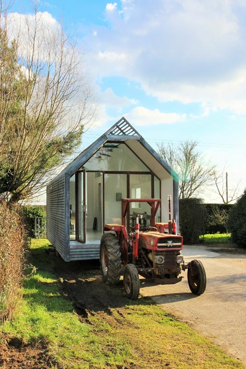 Tractor Pull - Mini Cabin by Contemporary Shepherds Huts