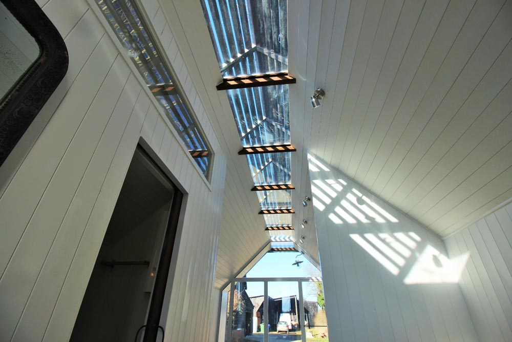 Slatted Skylight - Mini Cabin by Contemporary Shepherds Huts