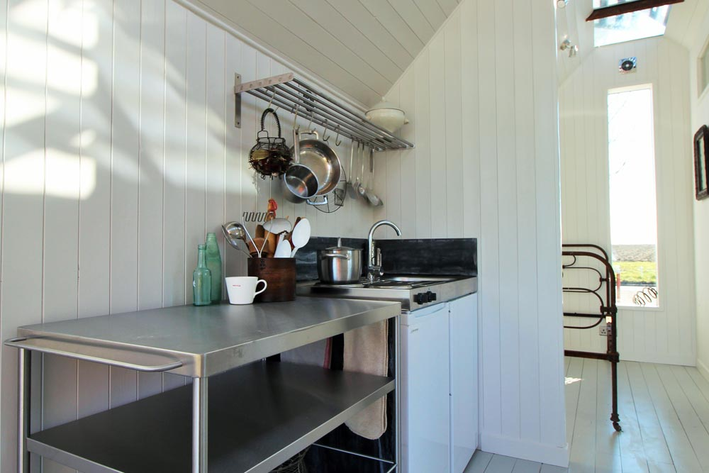 Movable Kitchen Island - Mini Cabin by Contemporary Shepherds Huts