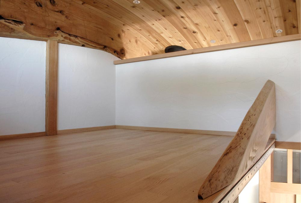Bedroom Loft - Curved 260 Micro Home by Structural Spaces