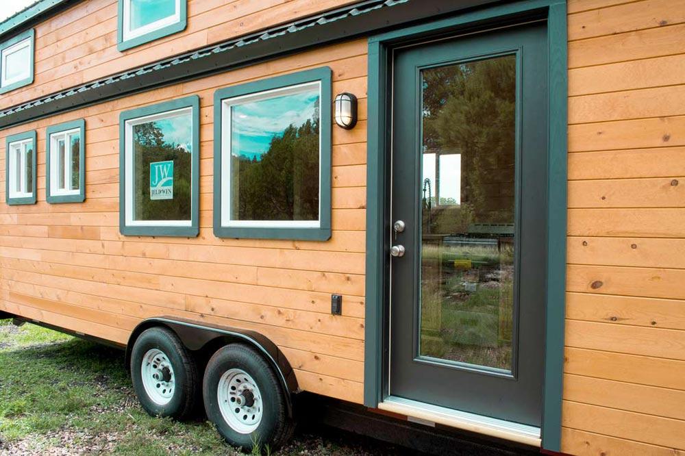 Front Door - Custom 30' by Tiny Treasure Homes
