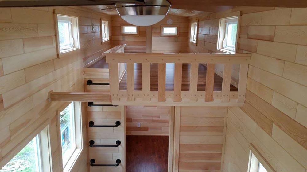 Loft Railings - Custom 30' by Tiny Treasure Homes