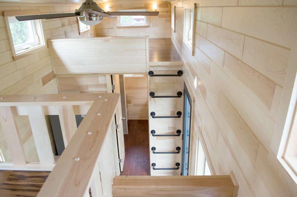 Loft Ladder - Custom 30' by Tiny Treasure Homes