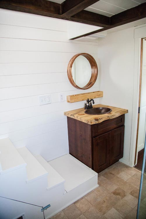Live Edge Vanity - El Gato by Alpine Tiny Homes