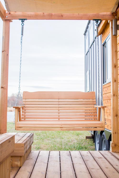 Porch Swing - Elsa by Olive Nest Tiny Homes
