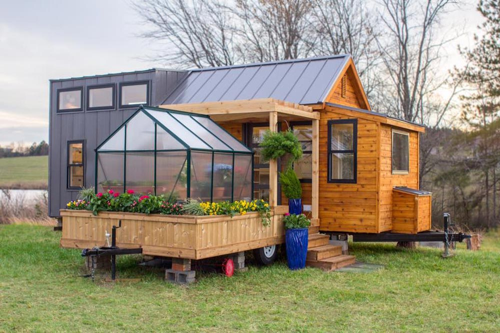 Greenhouse Trailer - Elsa by Olive Nest Tiny Homes
