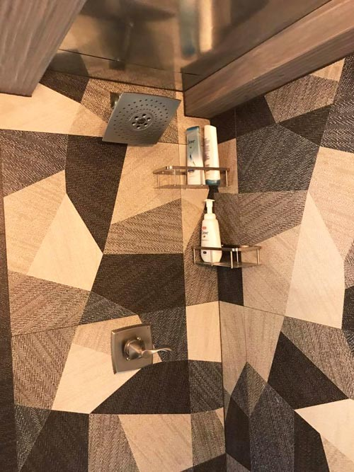 Tile Shower - Empty Nester by Kamtz Tiny Home Company