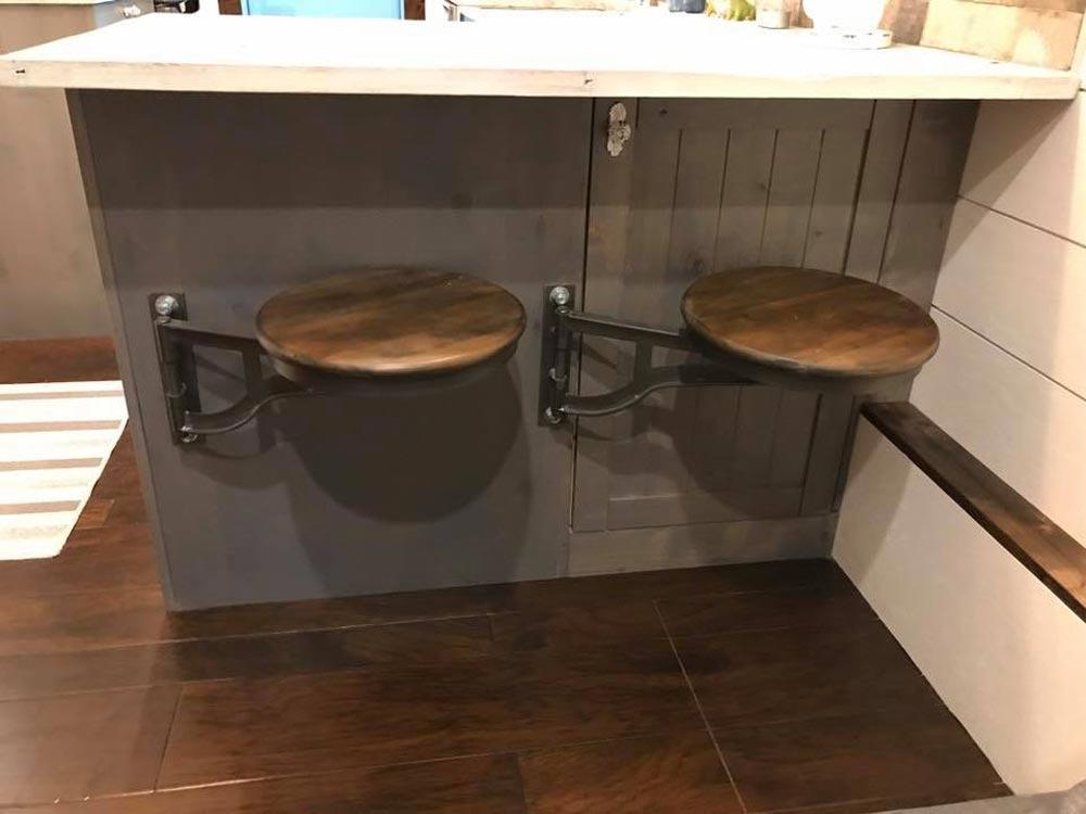 Swivel Barstools - Empty Nester by Kamtz Tiny Home Company