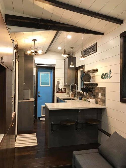 Kitchen - Empty Nester by Kamtz Tiny Home Company