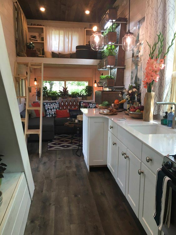 Kitchen - Ever Growing Tiny House