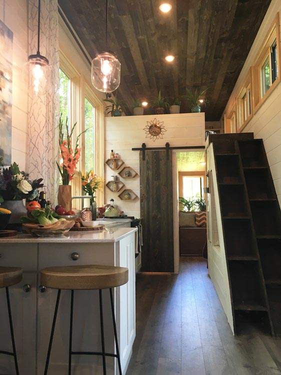 Interior View - Ever Growing Tiny House