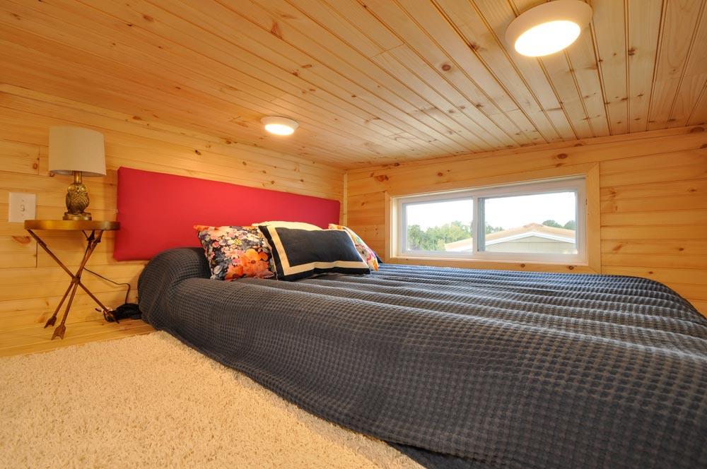 Bedroom Loft - Georgia by Tiny House Building Company