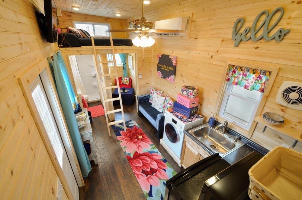 Tiny House Interior - Georgia by Tiny House Building Company