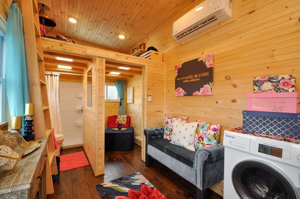 Living Room - Georgia by Tiny House Building Company