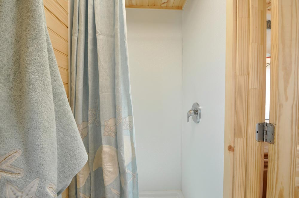 Shower - Harbor by Tiny House Building Company