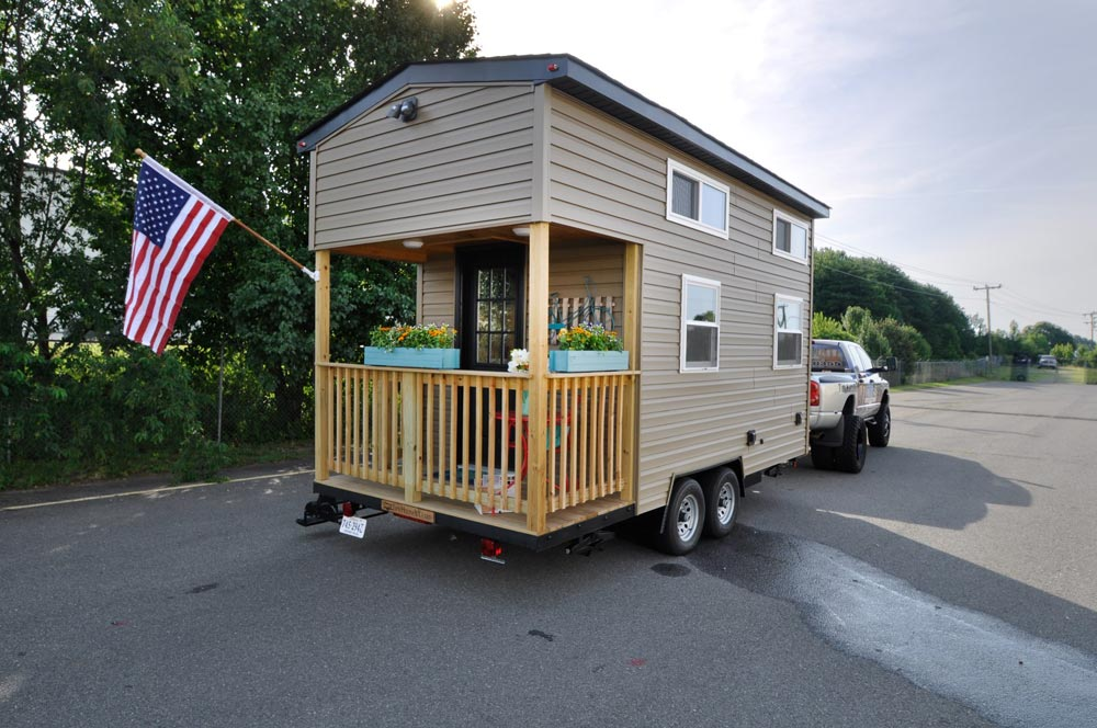 16' Tiny House - Harbor by Tiny House Building Company