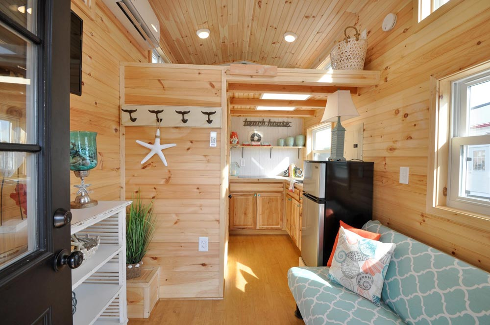 View From Entryway - Harbor by Tiny House Building Company