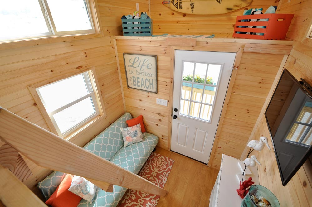 View From Loft - Harbor by Tiny House Building Company