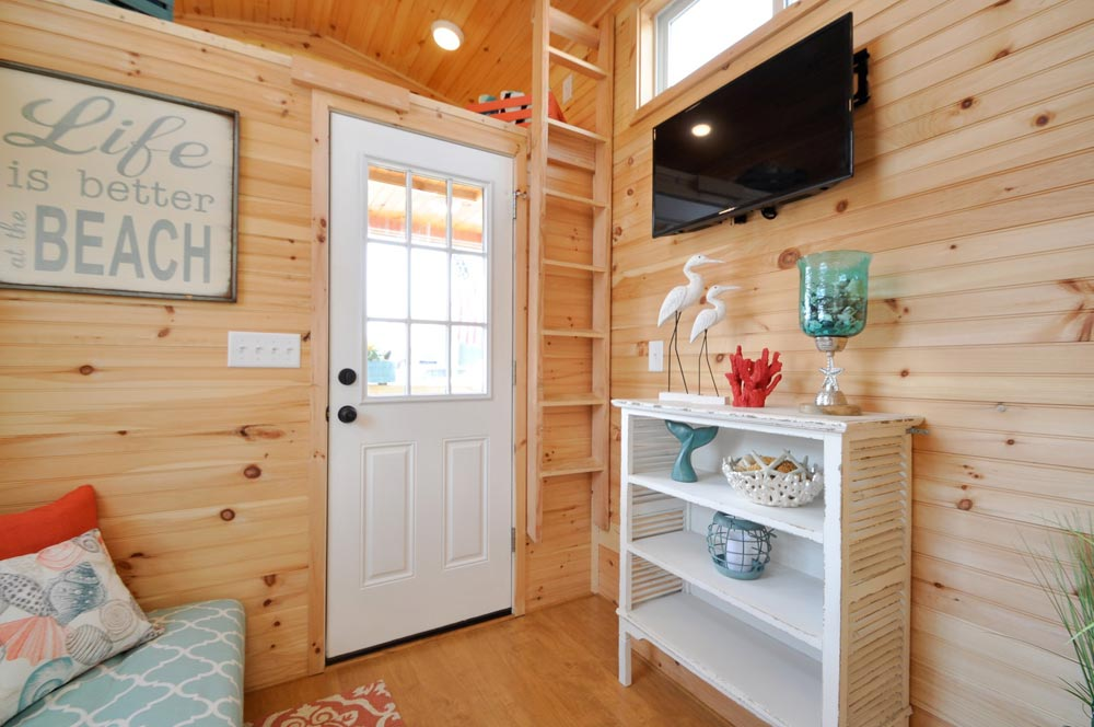 Front Door - Harbor by Tiny House Building Company
