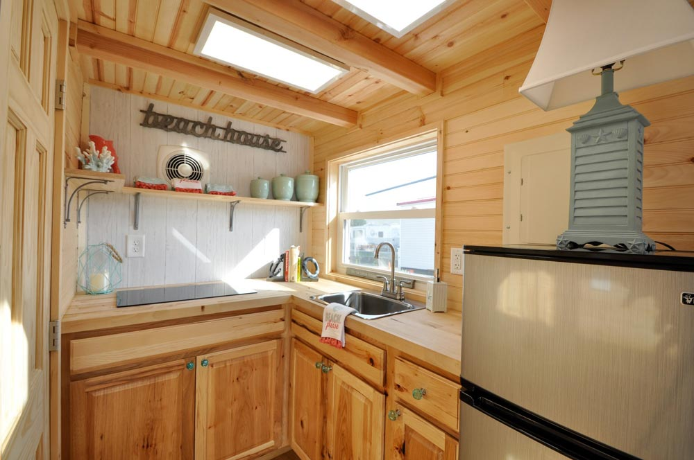 Kitchen - Harbor by Tiny House Building Company