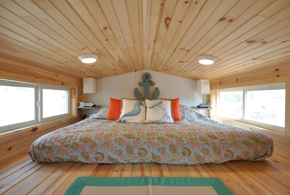 Bedroom Loft - Harbor by Tiny House Building Company