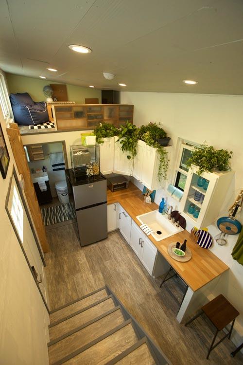 Kitchen - Modern Tiny Smart Home