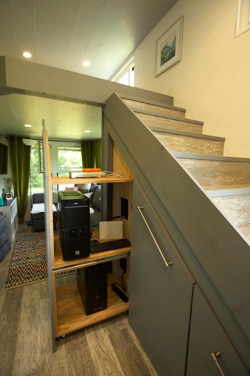 Slide Out Shelving - Modern Tiny Smart Home