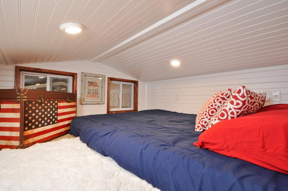 Bedroom Loft - Patriot by Tiny House Building Company