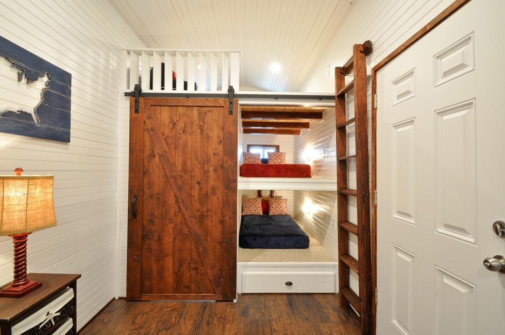Bunk Beds - Patriot by Tiny House Building Company