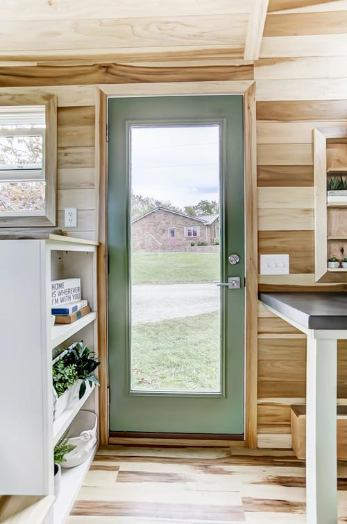 Full Light Front Door - Point by Modern Tiny Living